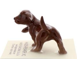Hagen-Renaker Miniature Ceramic Dog Figurine Chocolate Labrador Pup image 4