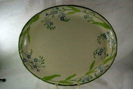 "Franciscan Forget Me Not Oval Platter 14"" - $48.50"