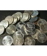 5 x 1oz 1981 US Assay Office Strategic Stockpile Silver Eagle Rounds FIV... - $187.11