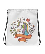 Noble Unicorn Drawstring Bag - $32.29 CAD