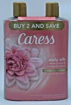 Caress Daily Silk Body Wash, 18 Oz, Twin Pack - White Peach Orange Bloss... - $15.83