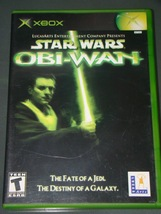 Xbox   Star Wars Obi Wan (Complete With Instructions) - $8.00