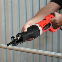 Durable Electric Reciprocating Saw Handheld Wood & Metal Cutting Tool Kit - $95.85