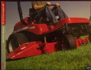 2005 Massey Ferguson ZT29, ZT33 Zero-Turn Mowers Brochure
