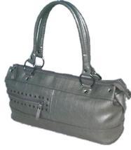 """Kenneth Cole """"Unlisted"""" silver handbag - $11.06"""