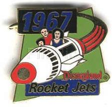 Disney DL 1998 Rocket Jets Tomorrowland ride pin/pins - $16.25