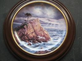 Framed Plate - AFTER THE STORM featuring BIG SUR - Danbury Mint image 2