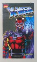 1995 Jim Lee Magneto X-Men Marvel Capcom arcade video game decal/sticker/poster - $69.29