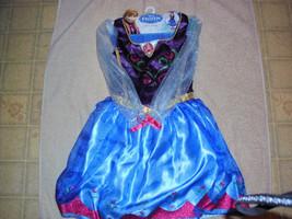 Disney Frozen Anna Halloween Costume Play Dress Up Dress Sz 4-6X NWT - $24.99