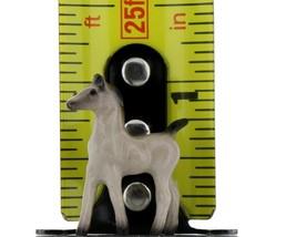 Hagen Renaker Miniature Horse Tiny Gray Colt Ceramic Figurine image 2