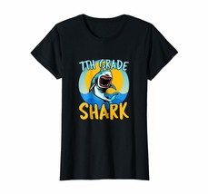 New Style - Seventh 7th Grade Shark Shirt First Day of School 2018 2019 Wowen - $19.95+