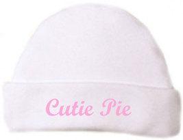 "Preemie & Newborn ""Cutie Pie"" Hat  - $10.00"