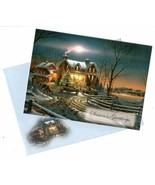 Vintage Season's Greetings Christmas Blessings Greeting Card - $14.36
