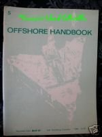 World Oil Well Drilling Offshore Hand Book Gulf Vintage Collector Collectible Bonanza