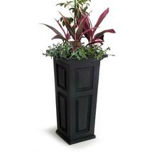 Garden Beautification Tool with Large Square Black Plastic Column Floor ... - $94.13 CAD