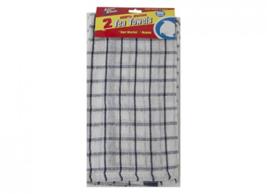 Pack Of 2 Plain Check Teatowels - $5.49