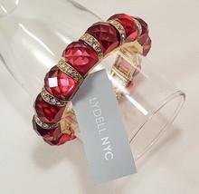 Lydell NYC Electric Pink CZ Stretch Bracelet NWT - $9.50