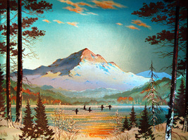 Lost Lake, Oregon (Dufex Foil Print #158534) - $4.99