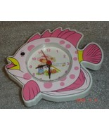 Mini Fish Clock w/ Strawberry Shortcake Photo - $9.95