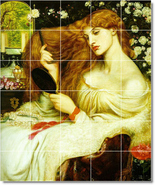 Rossetti dante lady lillith thumbtall