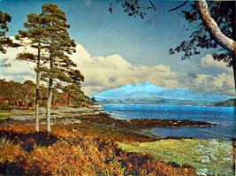 Loch Sunart and Ben Resipol (Dufex Foil Print #155237) - $4.99