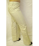 NEW LEVEL 99 FLARE WIDE LEG  STRETCH  TROUSER PANTS,SZ 27 4, OFF WHITE,P... - $24.70