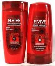 L'Oreal Paris 25.4 Oz Elvive Color Vibrancy Protecting Shampoo & Conditioner Set - $29.99