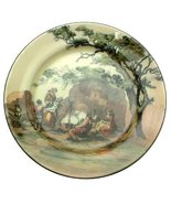 Royal Doulton c1920 The Gipsies D3191 Campfire Scene Old English Scenes ... - $121.03