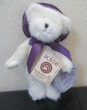 "Boyd's Head Bean Collection Ineeda Bargain Jointed Bear Shop Till You Drop...8"" - $12.86"