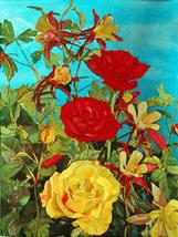 Mixed Roses (Dufex Foil Print #W5254M) - $4.99