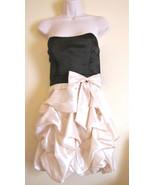 New Trixxi Junior Cocktail Party Strapless Pickup Mini Dress Sz 9 Black ... - $19.75
