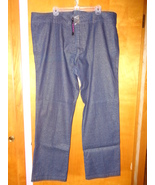 Suzanne Somers Womens Blue Jeans 24 Metalic Sparkle Gold Specks 108898 NEW - $29.99
