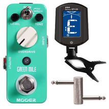 Mooer Green Mile Overdrive Tube Screamer Effect, ENO LED Automatic Clip ... - $88.00