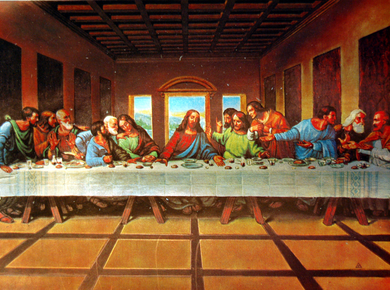 000000 the last supper
