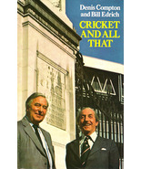 Cricket and All That - signed by Compton/Edrich - $110.00