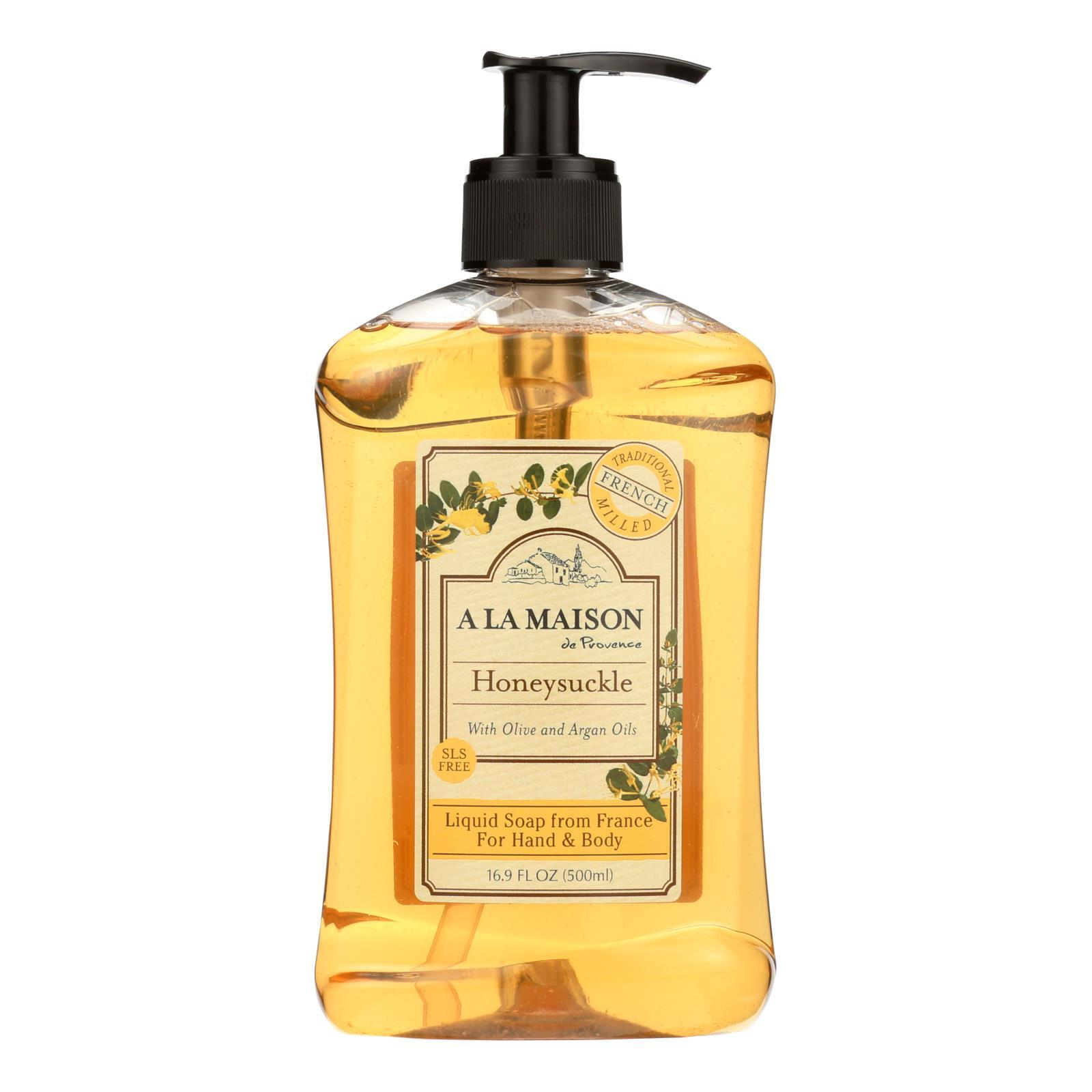 Primary image for A La Maison - French Liquid Soap - Honeysuckle - 16.9 oz