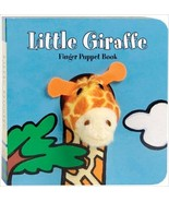 ImageBook Little Giraffe Finger Puppet Book - $18.00