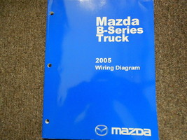2005 Mazda B-Series Electrical Wiring Diagram Service Repair Shop Manual BOOK 05 - $14.07