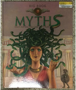Big Book of Myths - Giant Pop-Ups, Pull-Tabs & Flaps - Good Condition! - $3.79