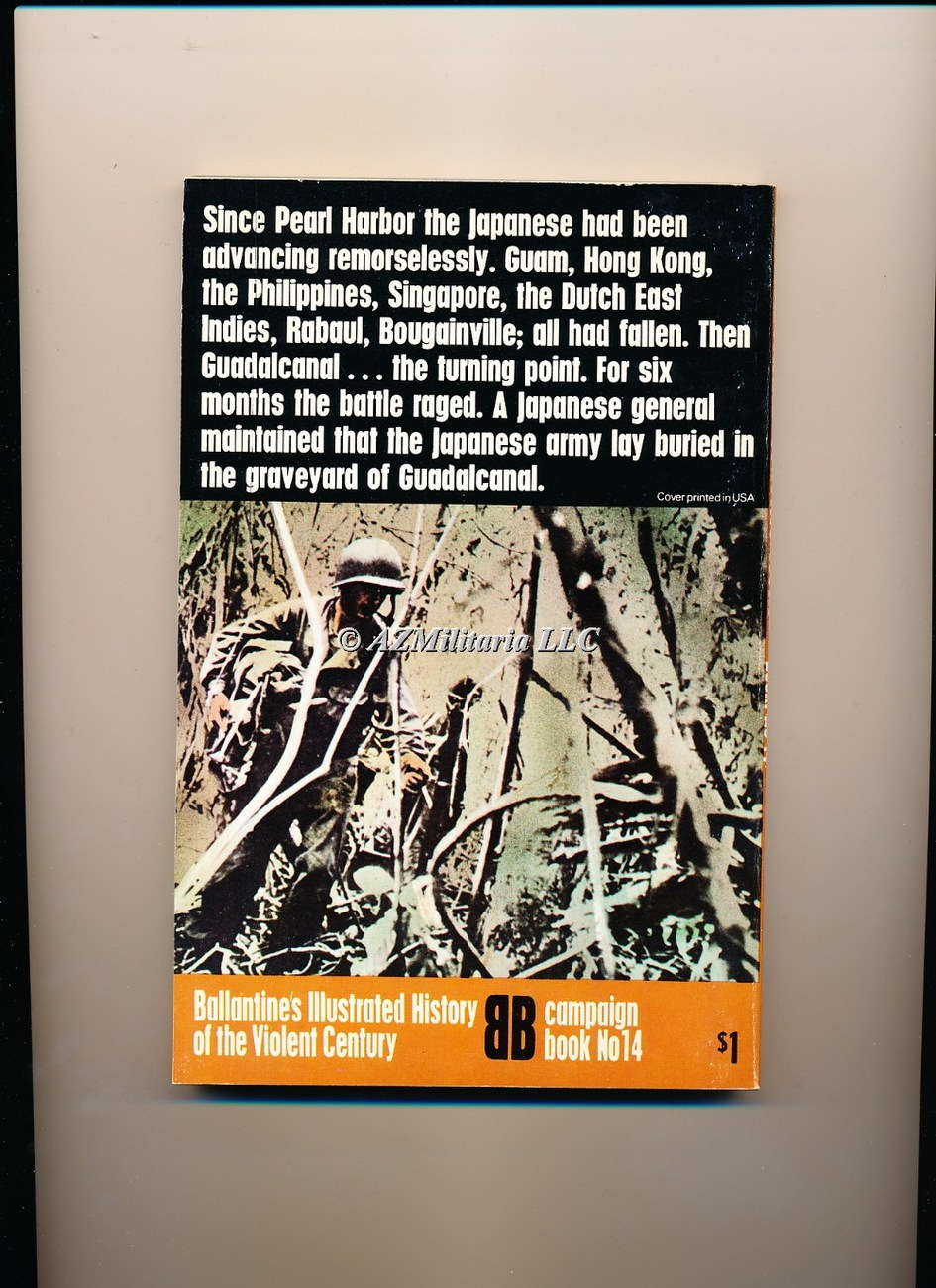 Guadalcanal Island Ordeal (Campaign Book, No 14)