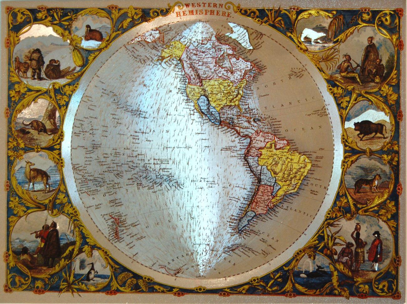 152533 globe   western hemisphere