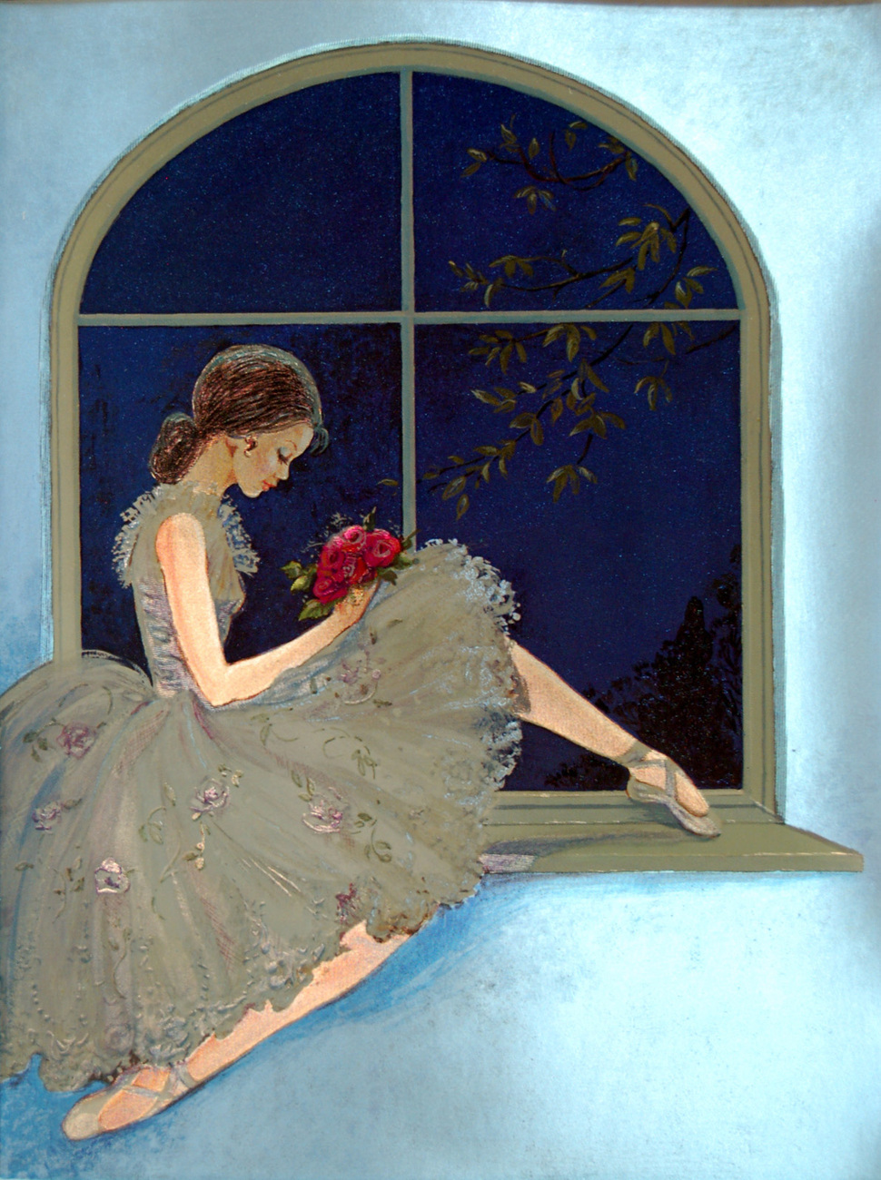 Ballerina by Window (Dufex Foil Print #152882)