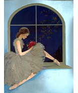 Ballerina by Window (Dufex Foil Print #152882) - $4.99