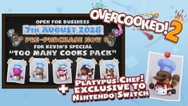 Overcooked! 2  Nintendo Switch NEW! image 2