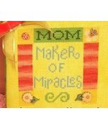 Mom Maker of Miracles PDF cross stitch charts Helga Mandl  - $6.00
