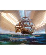 Sailing Ship (Dufex Foil Print #654467) - $4.99