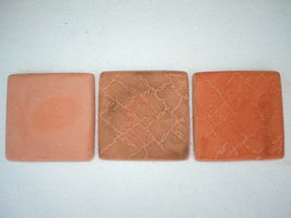 "Leather Texture Tile Molds 12- 4x4"" for Walls, Counter Make 100s for Pennies Ea. image 5"