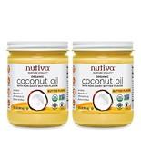 Nutiva Organic Coconut Oil with Butter Flavor from non-GMO, Steam Refine... - $29.10