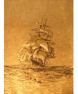 Sailing Ship - Gold (Vertical) (Dufex Foil Print #155347) - $4.99