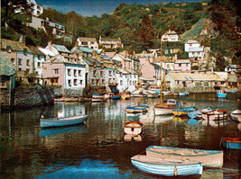 Small Boats at Polperro Harbour (Dufex Foil Print #155572) - $4.99